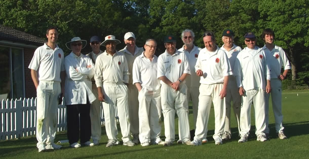The victorious team after the Fernhurst miracle.
